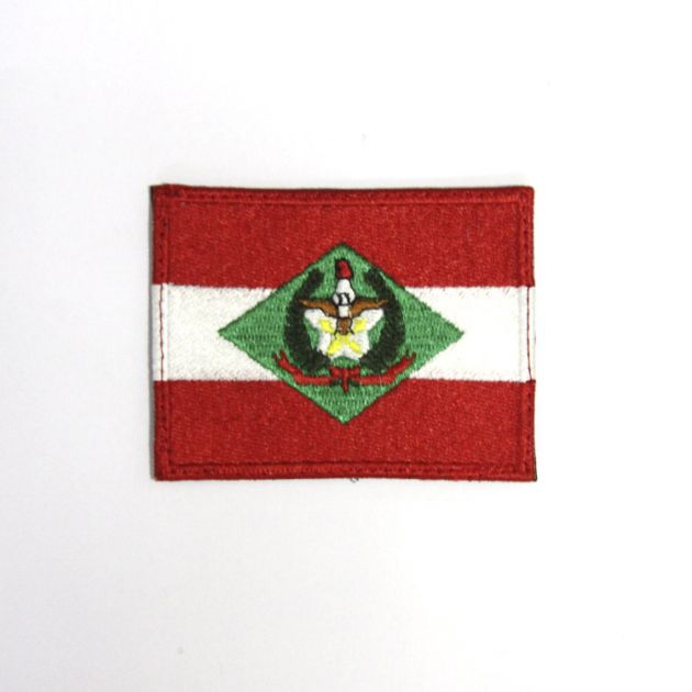 Bandeira do estado de Santa Catarina (6cm x 8cm)