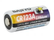 Bateria CR123A - 3.0v - SANYO