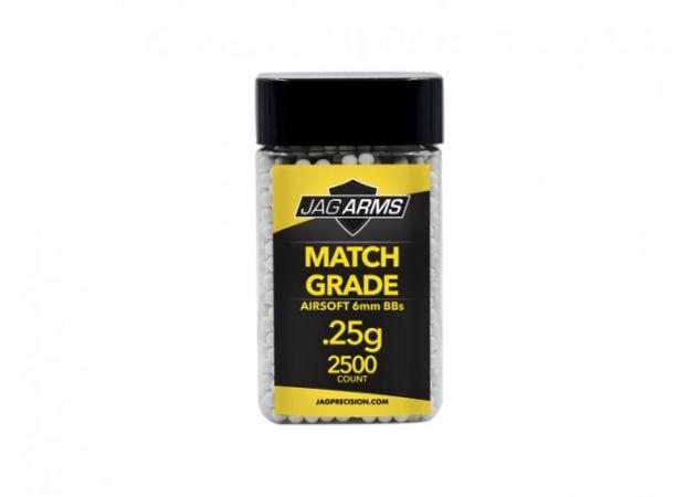 BBs 0.25g - MATCH GRADE - Jag Arms