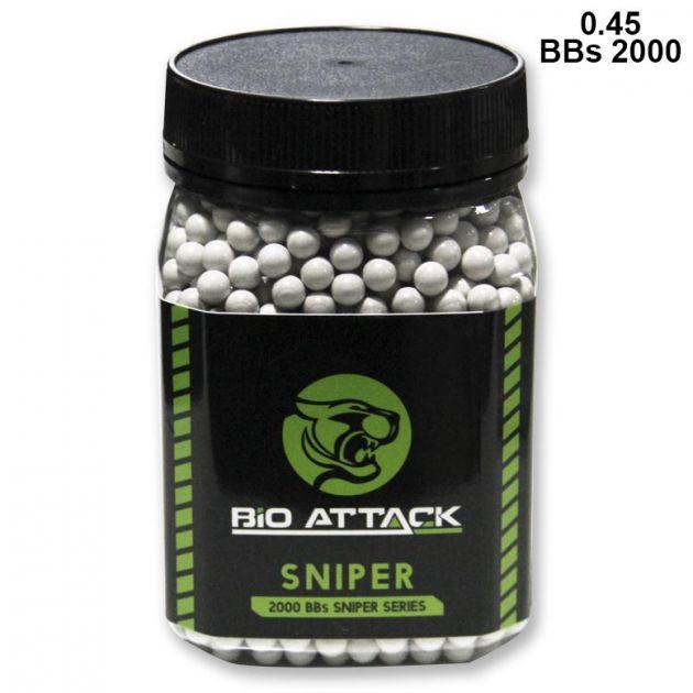 BBs Bio ATTACK 0.45 - 2000bbs