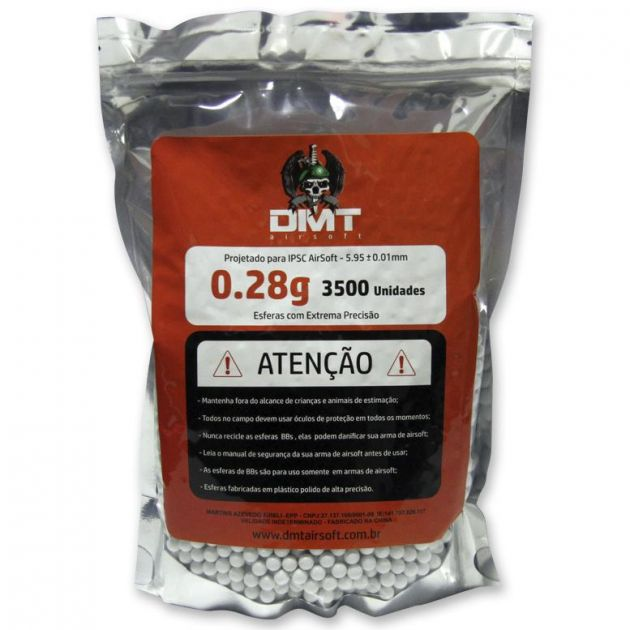 BBs DMT 0,28 - 3500 unidades