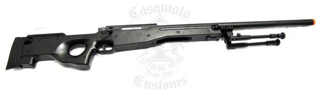 BRAVO MK98 (L96) Sniper Rifle Preta - Spring