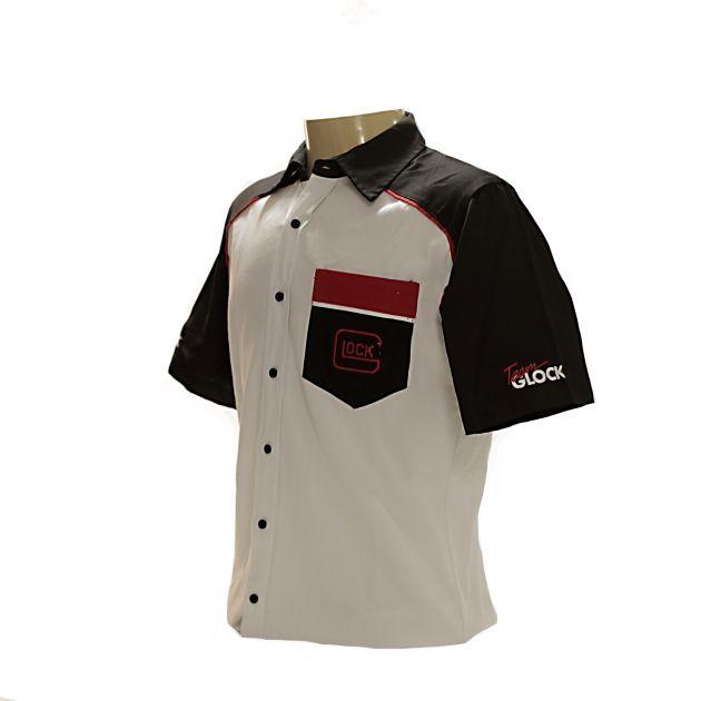Camisa de botão e lapela - Team Glock, G17