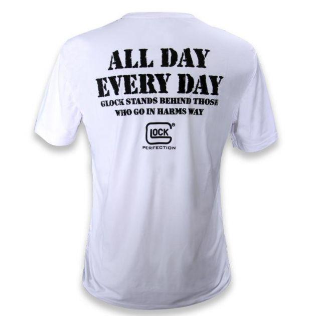 Camiseta Branca - Glock 4