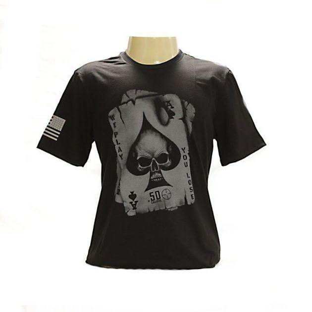 Camiseta - Caveira Ás de Espada