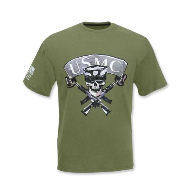 Camiseta - US MC - Verde