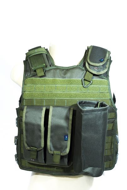 Colete militar - Verde (Nylon)