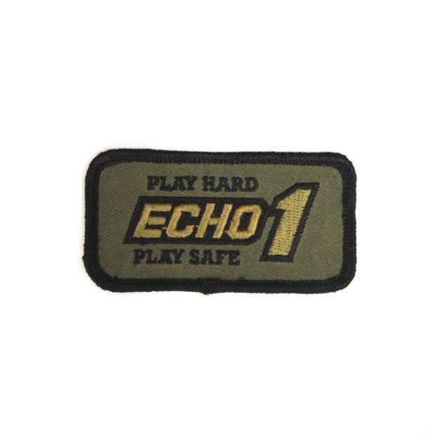 ECHO1 Play Safe - Horizontal (7cm x 3cm)
