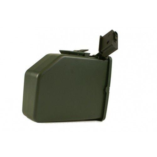 Mag magazine carregador para M249 SAW - 2500 BBs - ECHO1