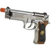 PISTOLA SAMURAI EDGE BIOHAZARD M9 - WE (Chrome)