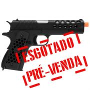 PISTOLA WE-TECH 1911 HEX CUT GEN.2 BLACK