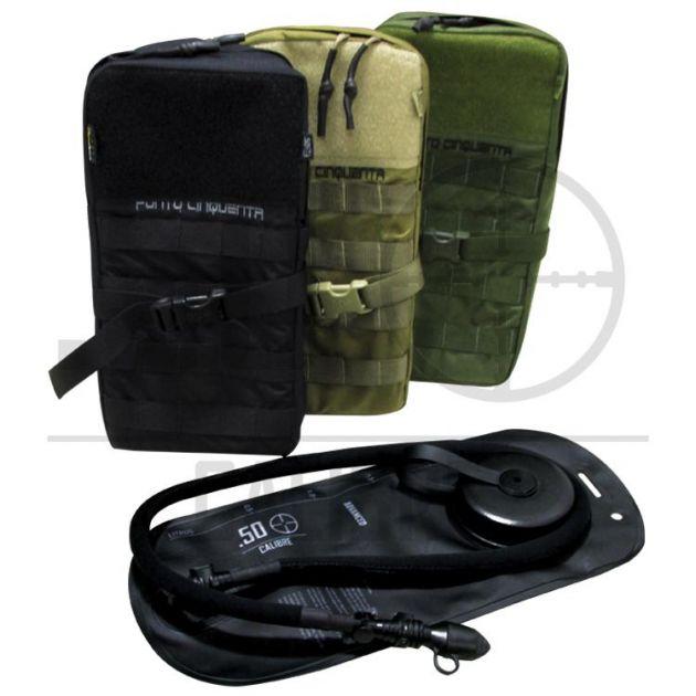 Porta Camelbak com isolamento térmico + bolsa de hidratação - .50 Calibre