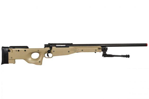 L96 BRAVO MK98 Sniper Rifle Tan - Spring