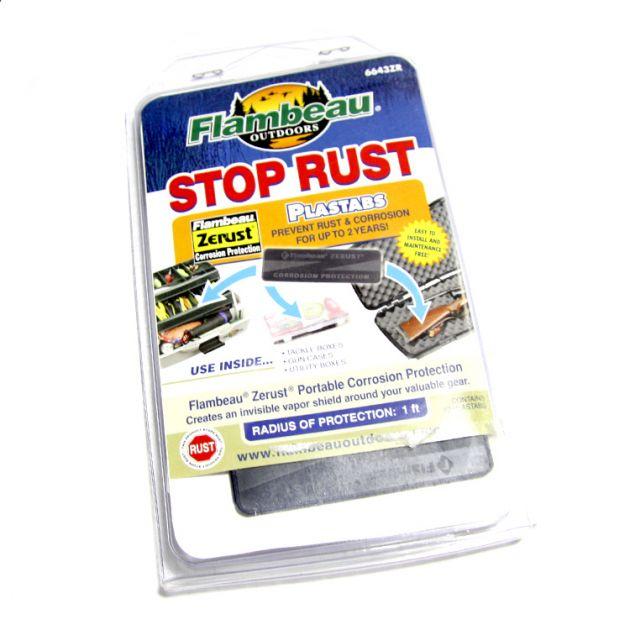 Tabletes de plástico Plastabs ZERUST - Anti corrosão - Flambeau
